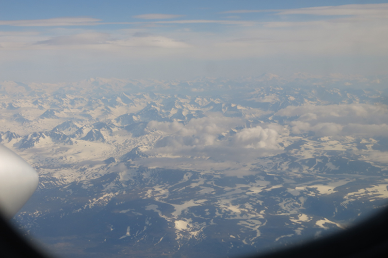 Here is only a fraction of the view from the plane flight from Anchorage to King Salmon.