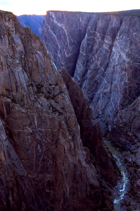 Again, The Black Canyon of the Gunnison.